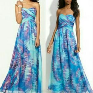 JS Boutique Dresses & Skirts - NEW Watercolor Prom Dress