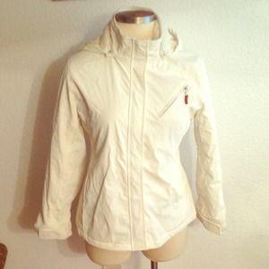 Icy White Jacket