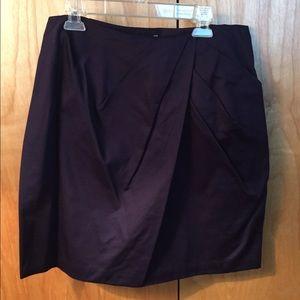 💜 ANTHRO purple skirt