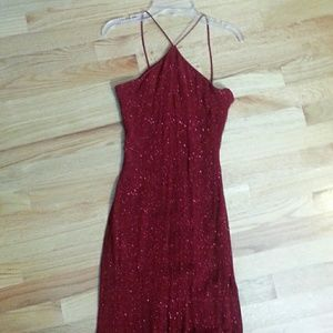 Dresses & Skirts - Sparkly Red Prom Dress