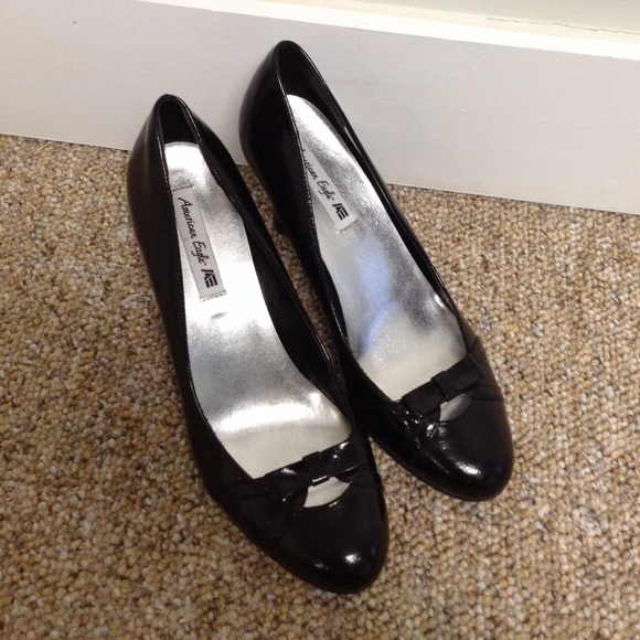 american eagle by payless flash sale black pumps from