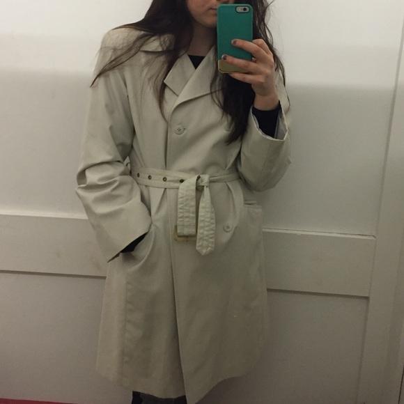 Vintage Jackets & Blazers - Beige trench coat