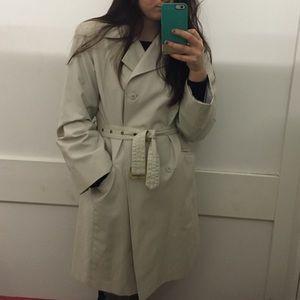 Vintage Jackets & Coats - Beige trench coat