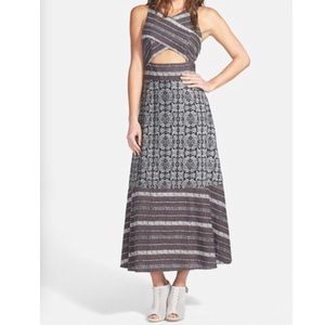 🆕 Free People tribal tale dress with caged back