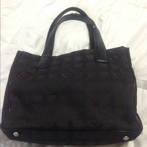 Authentic Vintage Chanel Tote Bag
