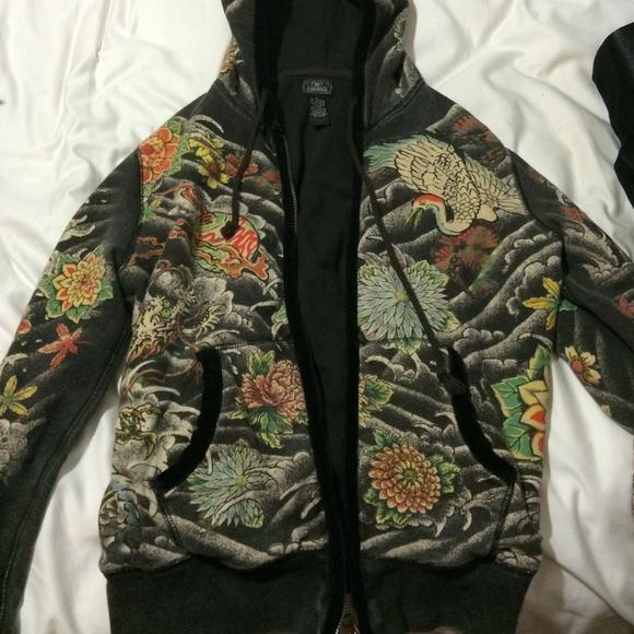 Lucky Brand Jackets & Coats   Tattoo Tokyo Jacket Size M   Poshmark