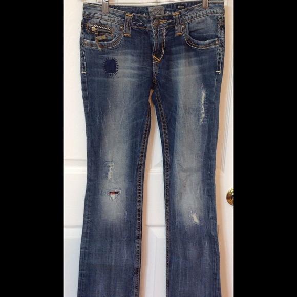 94% off Express Denim - Re Rock Express Jeans from Angela's closet ...