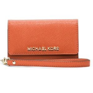 Leather phone wristlet for IPhone 5