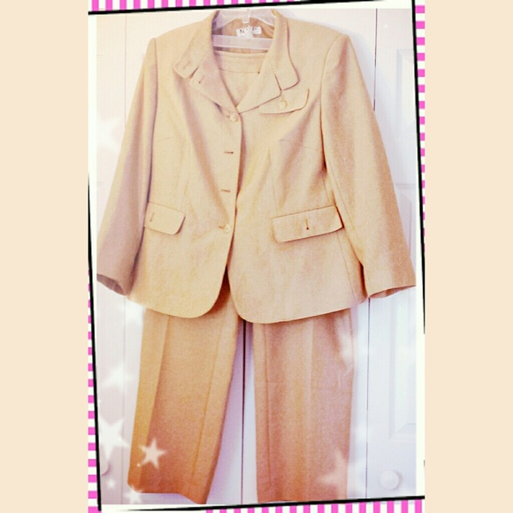 Nyp Other Tan Womens Dress Suit Poshmark