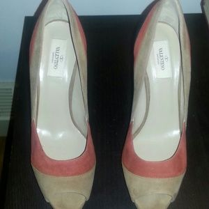 Valentino peep-toe pumps
