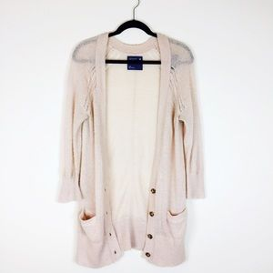 American Eagle Outfitters Sweaters - American Eagle blush mohair cardigan.