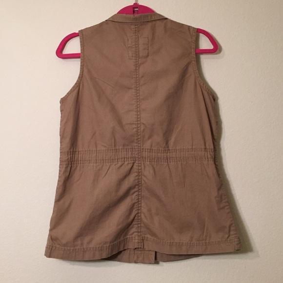Old Navy Jackets & Coats - Old Navy Khaki Cargo Vest, Size S