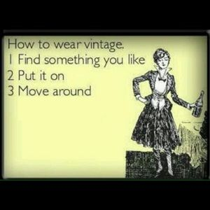 Other - How to Wear Vintage