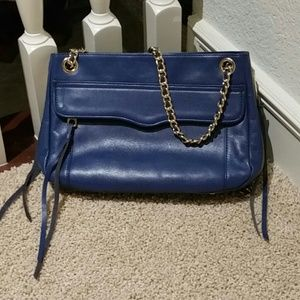Rebecca Minkoff blue swing bag