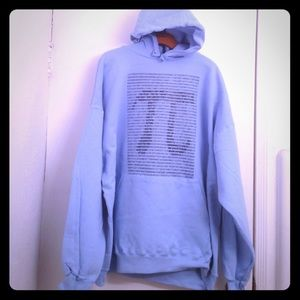 Tops - Baby Blue Pi Shirt