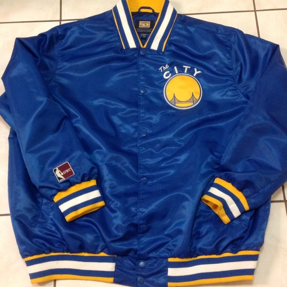 7dfb8ce72 Hardwood Classics Jackets & Blazers - Brand New Golden State Warriors Retro  Jacket