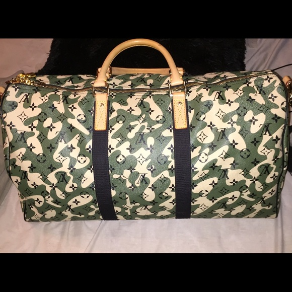 Louis Vuitton Handbags - RARE Louis Vuitton Monogramouflage 55 keepall 78770a0ab7661