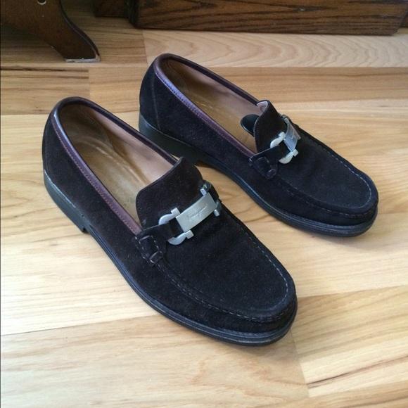 c4f2a10df2373 Salvatore Ferragamo vintage mens loafers