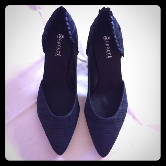 626c9b721101 Abaete for payless Shoes - Navy blue satin pumps