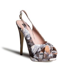 **SALE**NEW Shoemint flower print heels