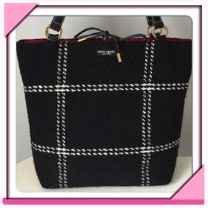 Host Pick Lowest Price - Kate Spade Plaid Tote