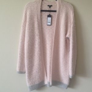 Dynamite Dusty Pink Oversized Cardigan
