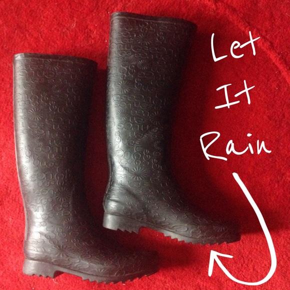 bb1df46b393 ⚠️SALE⚠️ UGG Wilshire Logo Tall Rain Boots