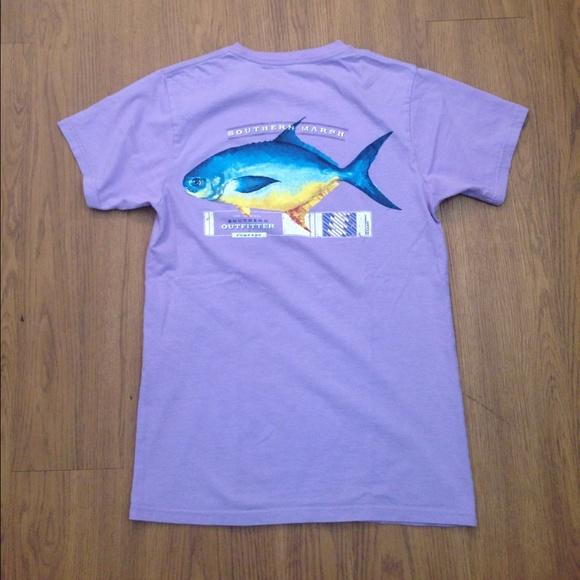 33 Off Southern Marsh Tops Purple Southern Marsh Shirt