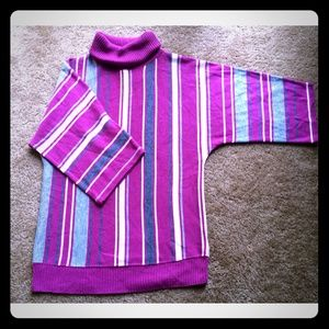 Striped sweater, sz S.
