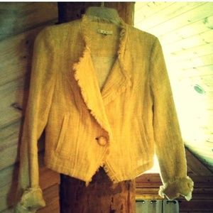 Yellow CAbi jacket.