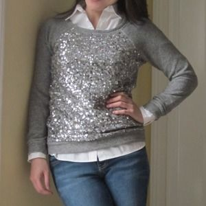 J. Crew Sweaters - J. Crew Retail Haya Sequin Embellished Sweater