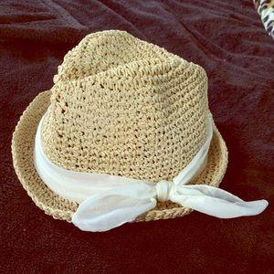 H&M paper straw hat