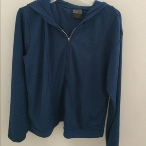 Jackets & Blazers - Nike zip up hooded sweatshirt