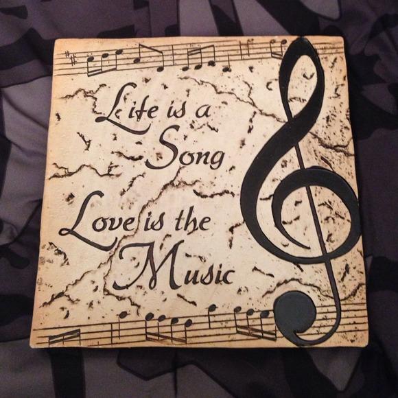 Life Is A Song Love Is The Music