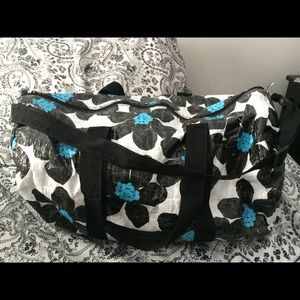 Accessories - Floral duffle bag