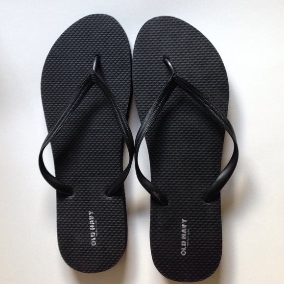 Old Navy Shoes Black Flipflops Poshmark