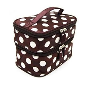 Handbags - NEW Collapsible Double Layer Cosmetic Case/Bag