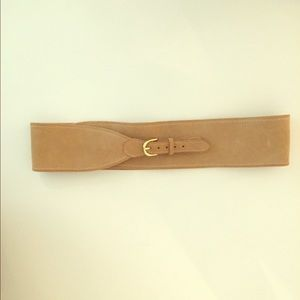 J. Crew wide suede belt