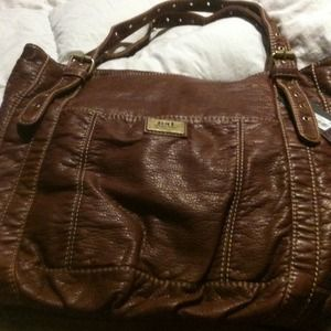 marc ecko Handbags - Brand New Brown Leather Tote✨