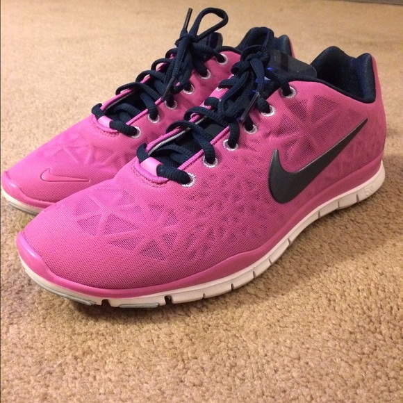 Nike Shoes Pink And Navy Free 50 Poshmark