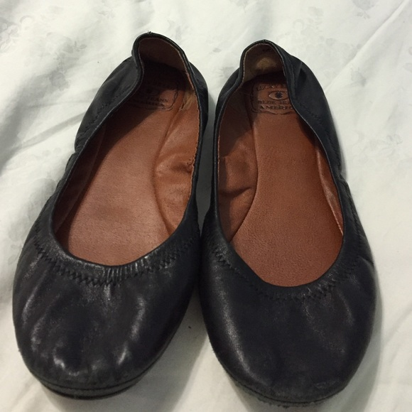 Lucky Brand Emmie Flats In Black