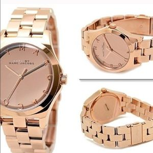 New w/ box Marc Jacobs Rose gold watch