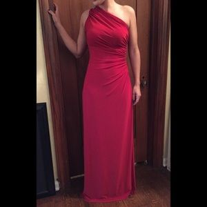 Ralph Lauren red dress