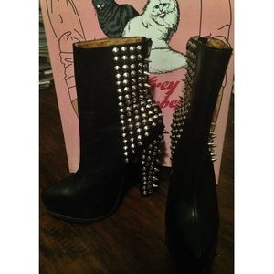 Jeffrey Campbell Avalos Spike Boot