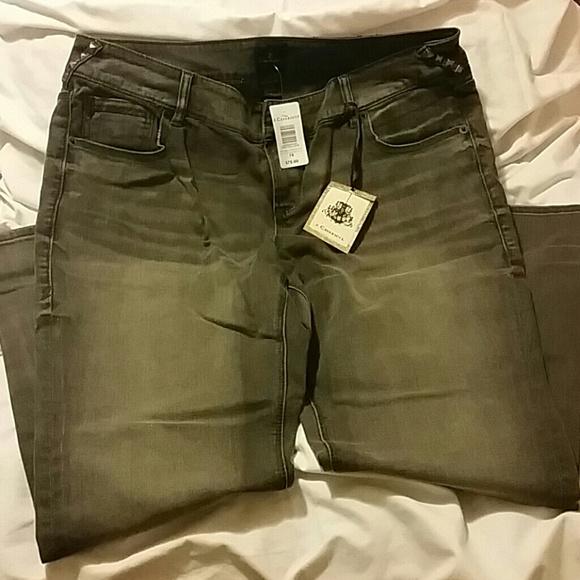 womens grey jeans sale