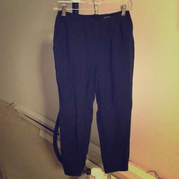 high waisted trousers h&m