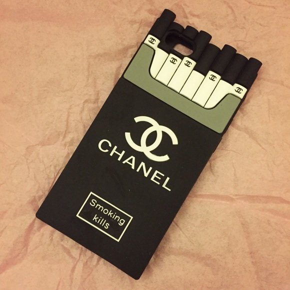 chanel smoking kills iphone 6 phone case cigarette on the hunt