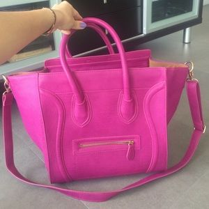 Dailylook Handbags - large pink handbag