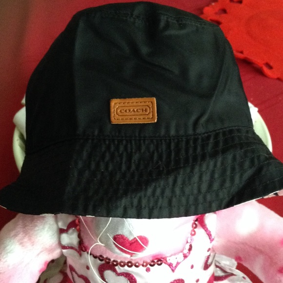 d76d70fbf5431 Coach Accessories - ☔️Coach bucket rain hat☔️