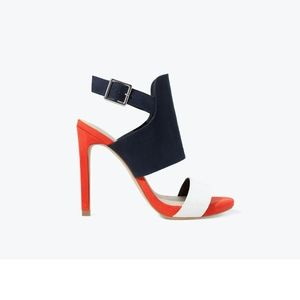 Zara-Three tone high heeled